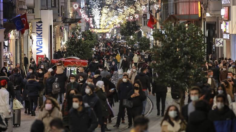 Τουρκία – Κορωνοϊός: Ρεκόρ ημερήσιων θανάτων το τελευταίο 24ωρο