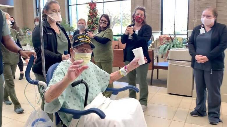 ΗΠΑ: Υπεραιωνόβιος βετεράνος του Β' Παγκοσμίου κόλλησε κορωνοϊό και επέζησε