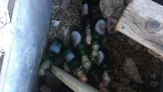 ΕΛΑΣ: Βόμβες μολότοφ εντοπίστηκαν σε εγκαταλελειμμένο κτήριο στα Εξάρχεια