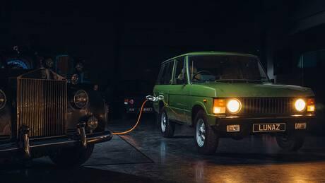 Τι θα λέγατε για ένα ηλεκτροκίνητο κλασικό Range Rover;