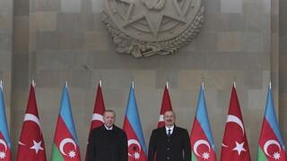 Ερντογάν από το Αζερμπαϊτζάν: Η Αρμενία να αλλάξει ηγεσία