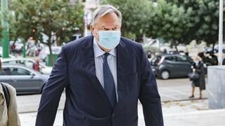 Novartis: Την Παρασκευή ολοκληρώνεται η κατάθεση Βενιζέλου για Παπαγγελόπουλο