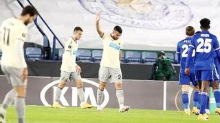 Λέστερ – ΑΕΚ 2-0: Ήττα και αποκλεισμός για την Ένωση
