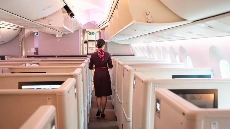 Κορωνοϊός: Σύσταση σε αεροσυνοδούς στην Κίνα να φορούν... πάνα για προστασία από την πανδημία