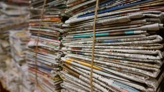 Τα πρωτοσέλιδα των κυριακάτικων εφημερίδων (13 Δεκεμβρίου)