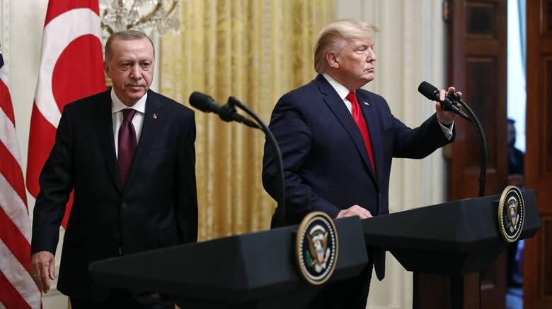 Αλλαγή γραμμής από τον Ερντογάν έναντι των ΗΠΑ