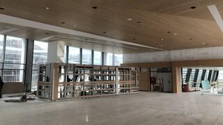 Η Λίνα Μενδώνη στην Εθνική Πινακοθήκη - Ολοκληρώνονται σύντομα οι εργασίες