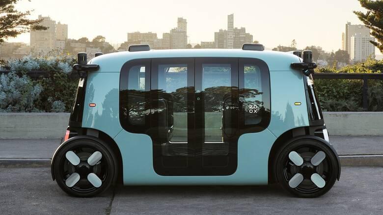 Amazon: Αυτό είναι το αυτόνομο, ηλεκτρικό ταξί της που μπορεί να κινηθεί μέχρι και για 16 ώρες