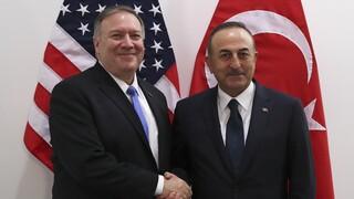 Κυρώσεις ΗΠΑ σε Τουρκία: Επικοινωνία Τσαβούσογλου - Πομπέο εν μέσω οργής στην Άγκυρα
