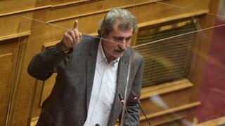 Άγριος καυγάς στη Βουλή στη συζήτηση άρσης ασυλίας του Πολάκη