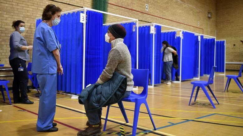 Κορωνοϊός - Βρετανία: 140.000 εμβολιασμοί μέσα σε μία εβδομάδα