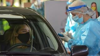 Κορωνοϊός: Τι έδειξαν τα rapid test μέσα από το αυτοκίνητο που έγιναν χθες από τον ΕΟΔΥ