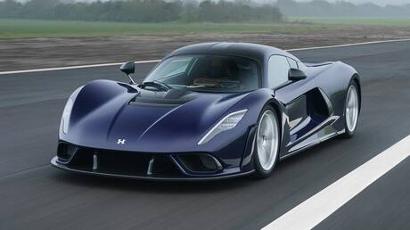 Τo νέο Hennessey Venom F5 των 1.847 ίππων θέλει να πετύχει παγκόσμιο ρεκόρ ταχύτητας