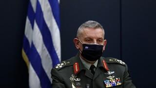 Κορωνοϊός - Αρχηγός ΓΕΕΘΑ: Οι Ένοπλες Δυνάμεις θα συμβάλουν στην επιδημιολογική επιτήρηση πληθυσμού