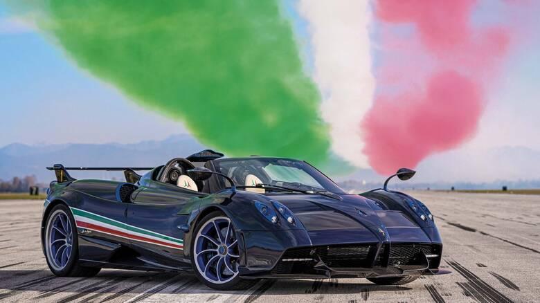 Αυτοκίνητο: Γιατί η Pagani Huayra Tricolore κοστίζει 5,5 εκατομμύρια ευρώ προ φόρων;