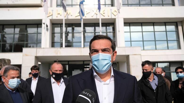 Τσίπρας στην Ελευσίνα: Εγκληματική αδιαφορία και ανικανότητα της κυβέρνησης