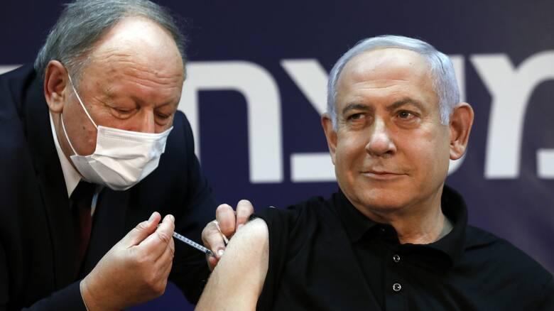 Κορωνοϊός: Ξεκίνησε ο εμβολιασμός στο Ισραήλ - Πρώτος το έκανε ο Νετανιάχου