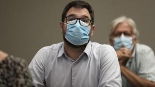 Κορωνοϊός - Ηλιόπουλος: Ανίκανη η κυβέρνηση - Δεν ενισχύει το σύστημα υγείας