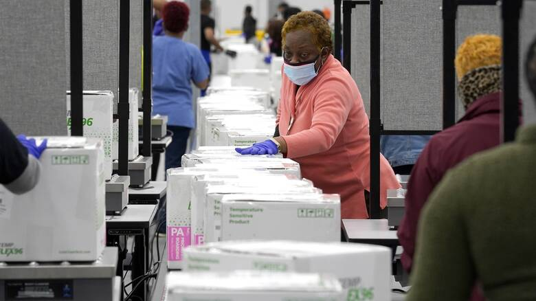 ΗΠΑ: Ξεκίνησε η μεταφορά των εμβολίων της Moderna - Πιθανόν αύριο ο πρώτος εμβολιασμός