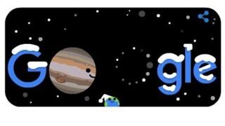 Χειμώνας και μεγάλη σύζευξη Δία - Κρόνου: H Google... γιορτάζει με Doodle