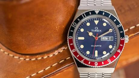 Blast from the past: Το Timex Q είναι το ρολόι που συνδυάζει ρετρό design με σύγχρονες τεχνολογίες