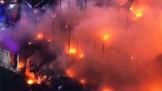 Μιζούρι: Μεγάλη πυρκαγιά σε εργοστάσιο ανακύκλωσης στο Σεντ Λιούις