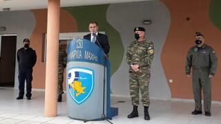 Χριστούγενα 2020: Σε μονάδες των Ενόπλων Δυνάμεων στη Λήμνο ο Νίκος Παναγιωτόπουλος