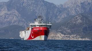 Oruc Reis: Βγήκε από το λιμάνι της Αττάλειας για νέες σεισμικές έρευνες