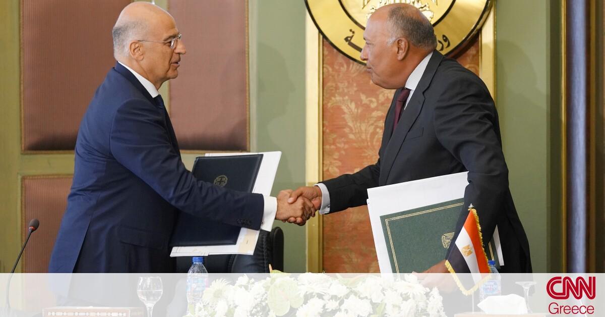 Αναρτήθηκε σε χρόνο ρεκόρ στον ΟΗΕ η συμφωνία Ελλάδας – Αιγύπτου για την ΑΟΖ