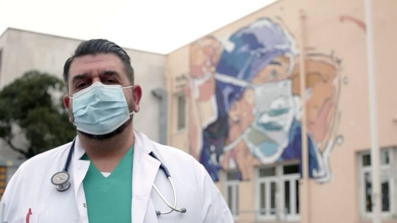 Συμεών Μεταλλίδης, ο γιατρός της πανδημίας: Το «κρούσμα 0», η 17χρονη, η ζωή στο νοσοκομείο