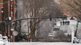 Συναγερμός στις ΗΠΑ: Ισχυρή έκρηξη στο κέντρο του Νάσβιλ - Τρεις τραυματίες