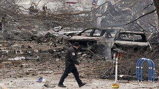 Νάσβιλ: Ανατριχιαστικό βίντεο από τη στιγμή της έκρηξης