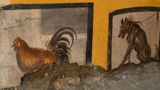 Πομπηία: Εκπληκτικές νωπογραφίες και υπολείμματα φαγητού από ρωμαϊκό ταχυφαγείο