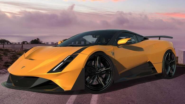 Λέγεται illyrian Pure Sport και θέλει να είναι το πρώτο αλβανικό supercar