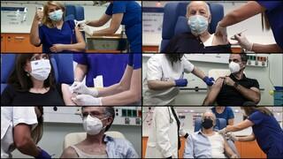Εμβόλιο «ώρα μηδέν»: Άρχισαν οι εμβολιασμοί στην Ελλάδα (liveblog)