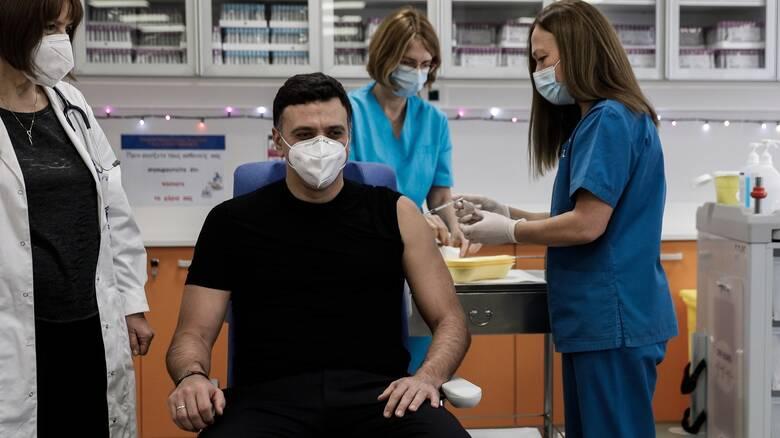 Κικίλιας στο CNN Greece: Μέχρι τέλη Ιανουαρίου θα έχουν εμβολιαστεί όλοι οι υγειονομικοί