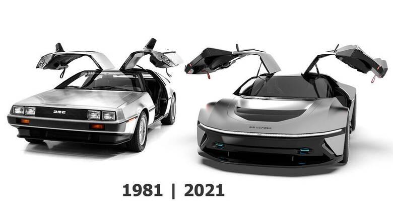 Αυτό θα μπορούσε να είναι το νέο Delorean, το αυτοκίνητο μιας 4ης ταινίας «Επιστροφή στο μέλλον»