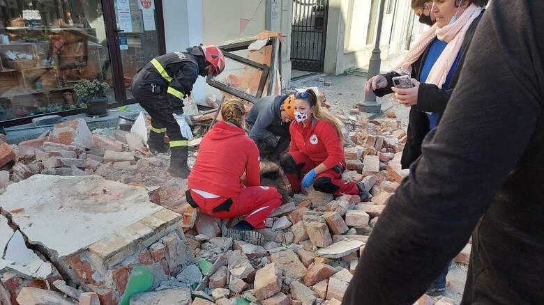 Κροατία: Ισχυρός σεισμός 6,4 Ρίχτερ κοντά στο Ζάγκρεμπ - Ένα παιδί νεκρό και τραυματίες
