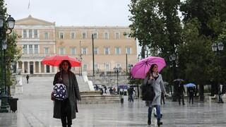 Καιρός: Με βροχές και καταιγίδες μας αποχαιρετά το 2020