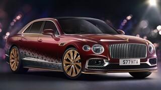 Αυτοκίνητο: Η Reindeer Eight είναι η πρόταση της Bentley για το μεταφορικό μέσο του Άι Βασίλη