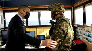 Πρωτοχρονιά 2021: Σε Λειψούς και Φαρμακονήσι ο υφυπουργός Άμυνας Αλκιβιάδης Στεφανής