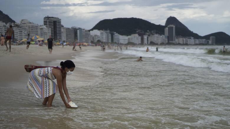 Κορωνοϊός - Βραζιλία: Λιγότερες εκδηλώσεις και λιγότερα σκουπίδια στην Κόπα Καμπάνα