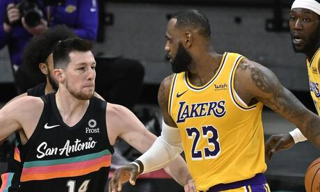 NBA: Ασταμάτητος ο ΛεΜπρόν Τζέιμς, νέα νίκη για Λέικερς