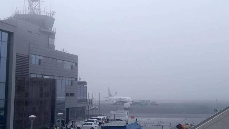 Θεσσαλονίκη: Η ομίχλη εμπόδισε την προσγείωση αεροσκάφους από τη Χίο