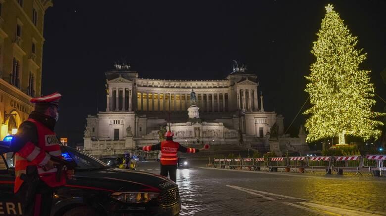 Ιταλία: Κόκκινη ζώνη τα Σαββατοκύριακα μέχρι και το Φεβρουάριο