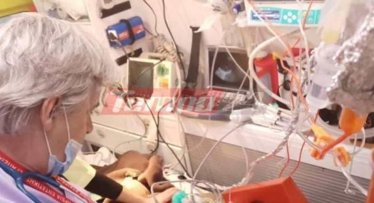 Πάτρα: Μεταφέρεται στην Ιταλία η 8χρονη Ειρήνη - Αναζητείται άμεσα μόσχευμα καρδιάς