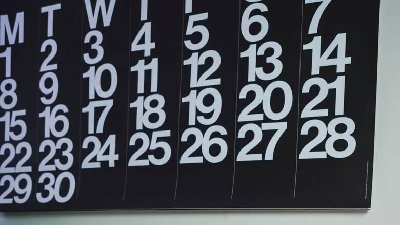 Αργίες 2021: Πότε πέφτουν και πότε έχουμε τριήμερα φέτος
