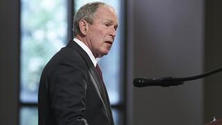 ΗΠΑ: Παρών στην ορκωμοσία Μπάιντεν ο Τζόρτζ Μπους ο νεότερος