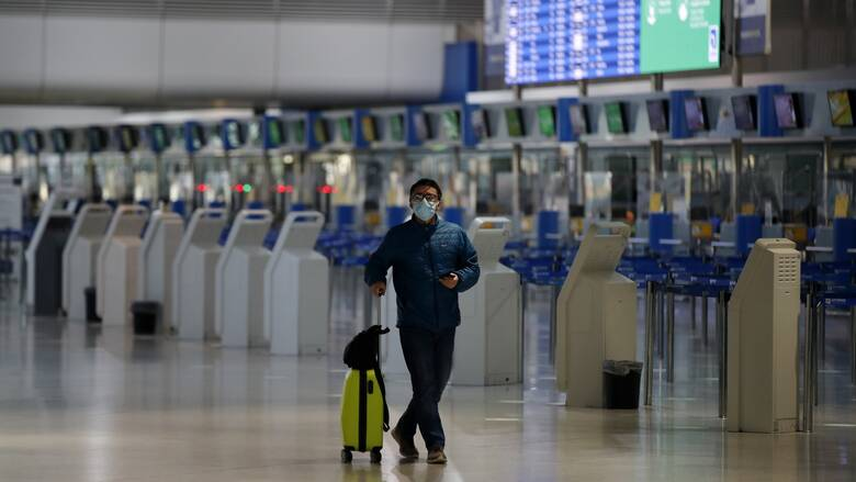 ΥΠΑ- Κορωνοϊός: Ανανέωση αεροπορικής οδηγίας για πτήσεις εσωτερικού