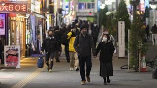 Αντιμέτωπη με τρίτο κύμα κορωνοϊού η Ιαπωνία: Σε κατάσταση έκτακτης ανάγκης το Τόκιο